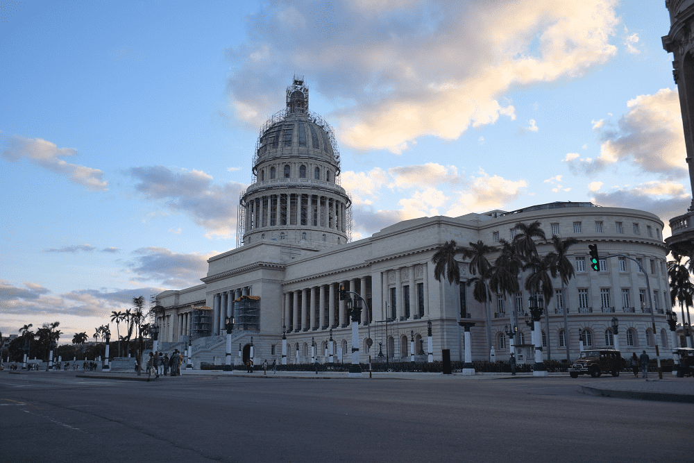 The Capital building in Old Havana