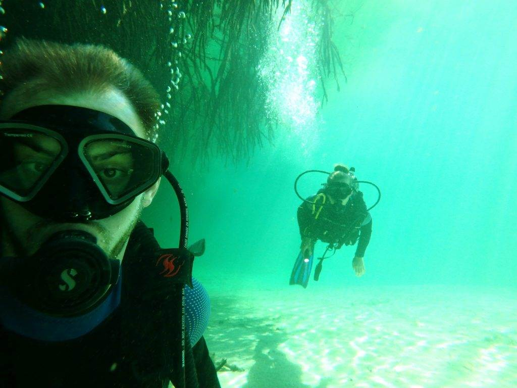 scuba diving Tulum on a budget