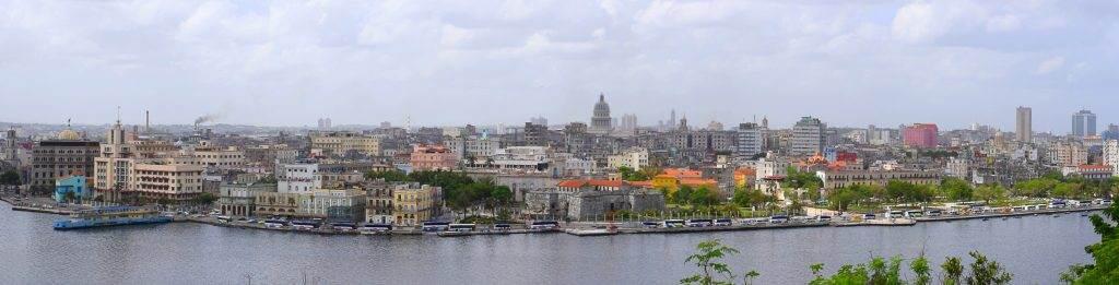 panorama of Havana