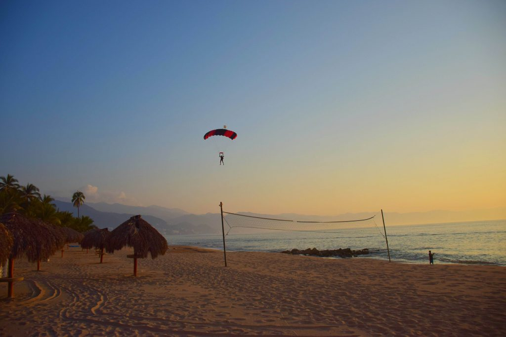 skydive landing in puerto vallarta