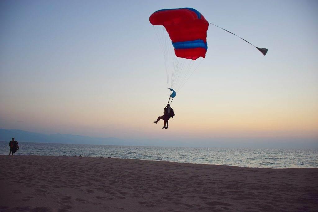 tandem skydiving in Puerto Vallarta