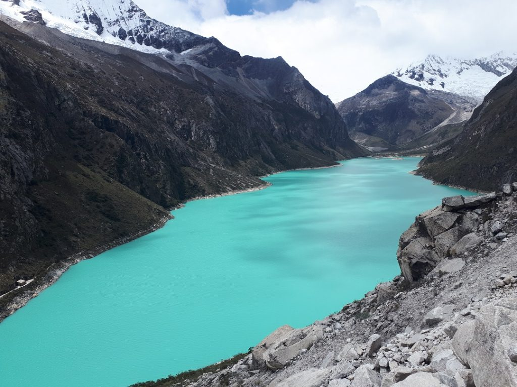 laguna paron i one of the best hikes in huaraz