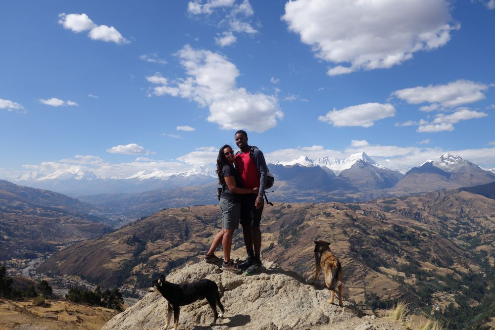 WIlcacocha is a hike from huaraz
