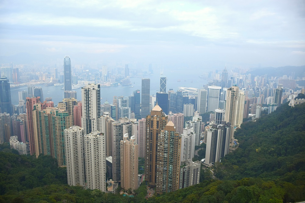 Victoria Peak is one of the top things to do in hong kong