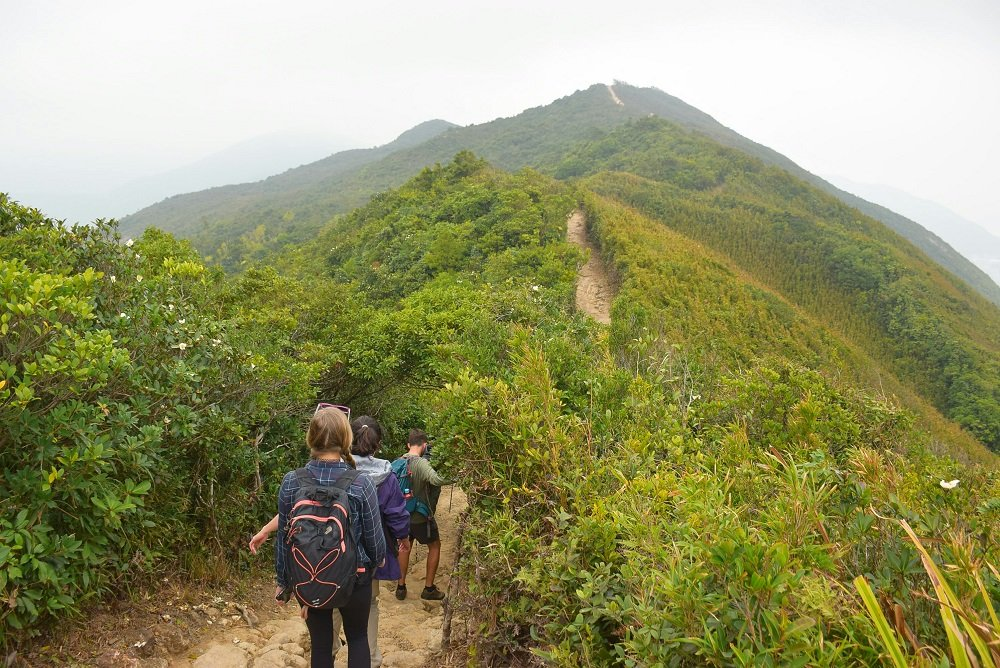 Top Things to do in Hong Kong include hiking