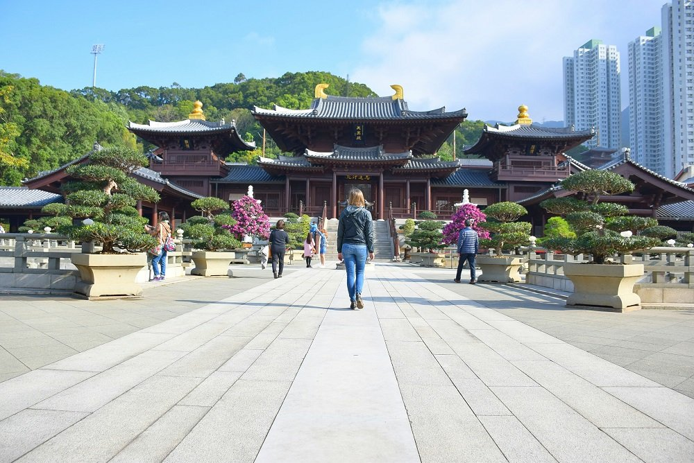 exploring the nan lian gardens