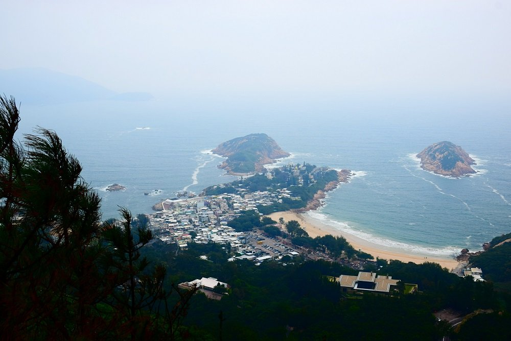 the drangon's back trail view in hong kong photo gallery