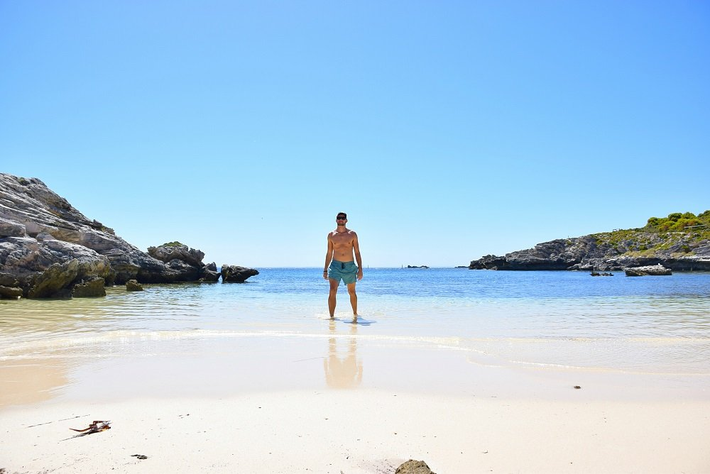 little armstrong bay on rottnest island