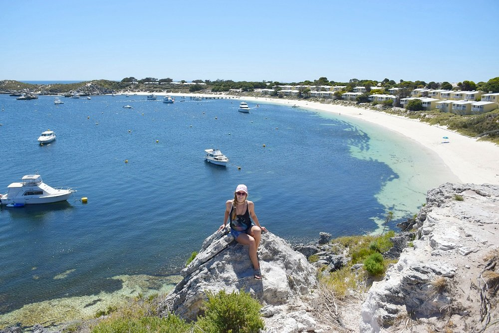 stark bay lookout on Rottnest