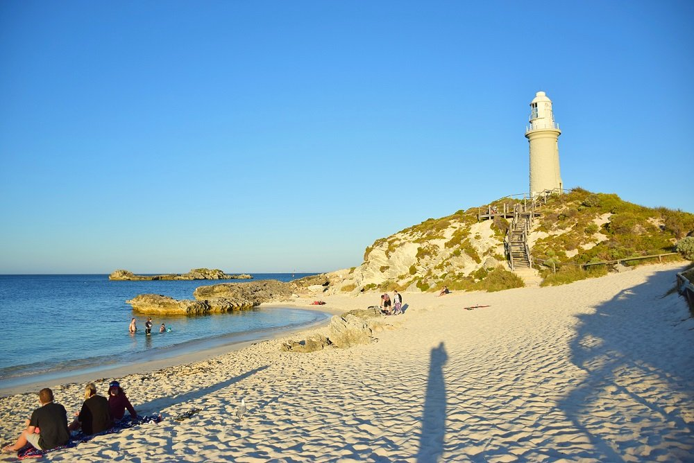 another beautiful beach on Rottnest Island
