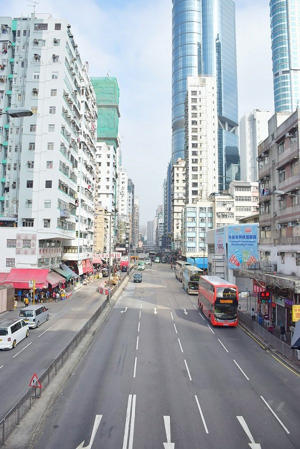 Kowloon is perfect when backpacking in Hong Kong