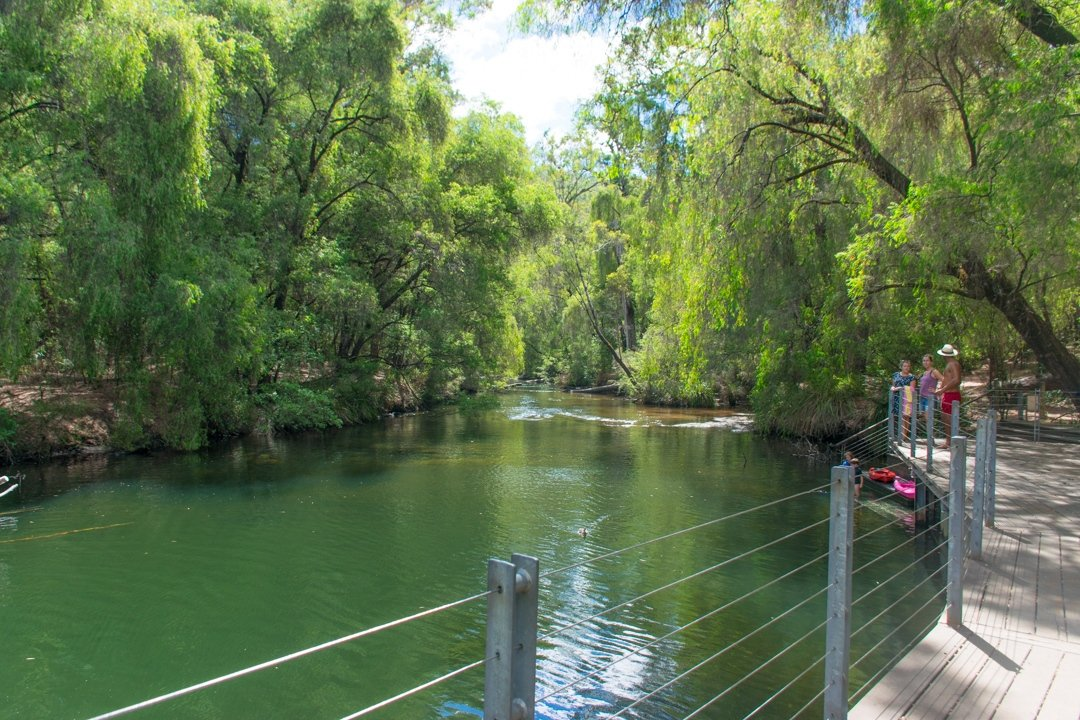 Day trips from Perth, Honeymoon Pool!