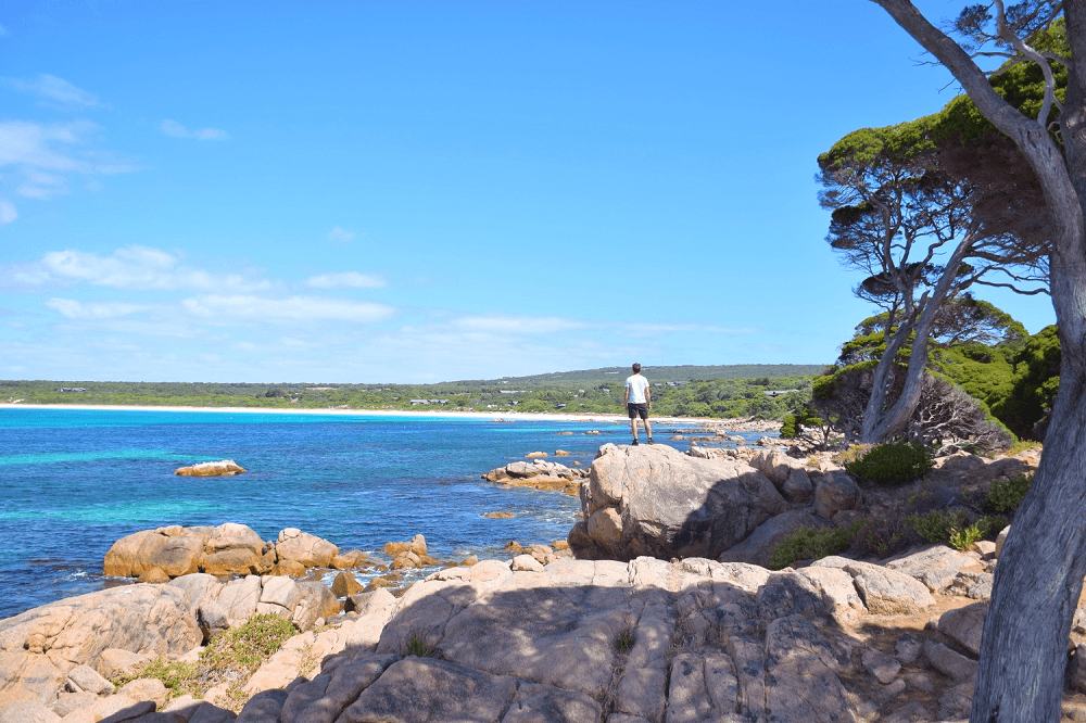 eagle bay is not far from margaret river