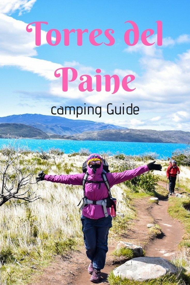 torres del pain camping guide pin