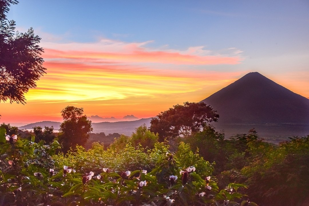 Sunset on ometepe, things to do on ometepe
