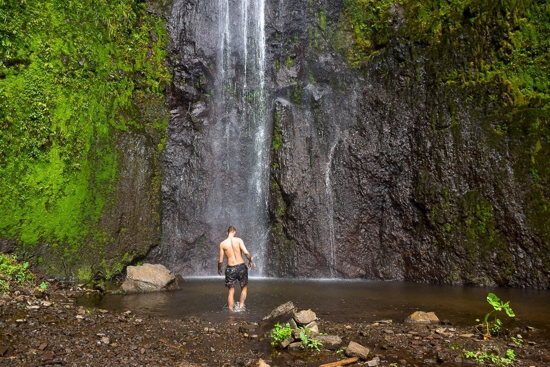 San Ramon Waterfall Ometepe, things to do on ometepe