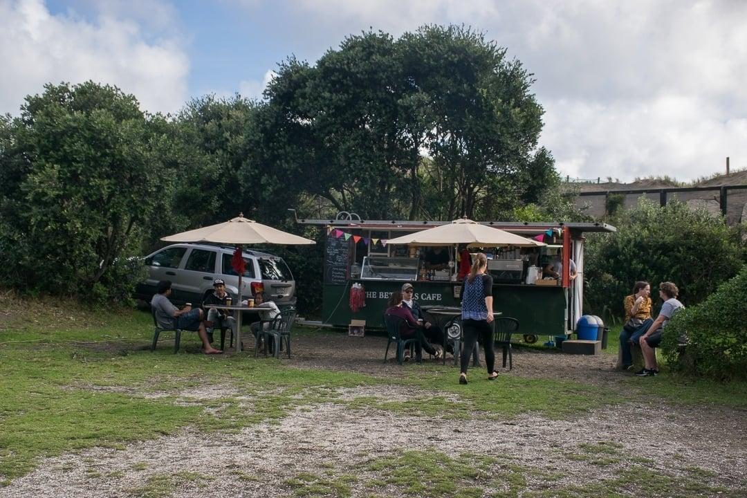 Facilities at bethell's beach