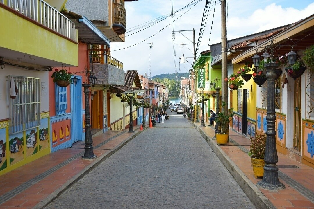 Guatape in our colombia travel guide