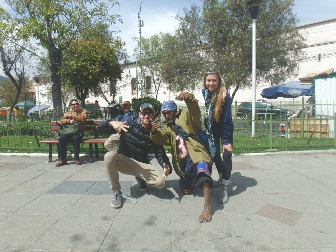 Crazy Dave in our Bolivia travel guide