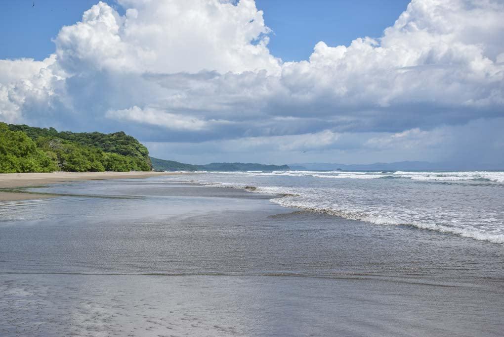 Las Penitas beach near Leon, Nicaragua