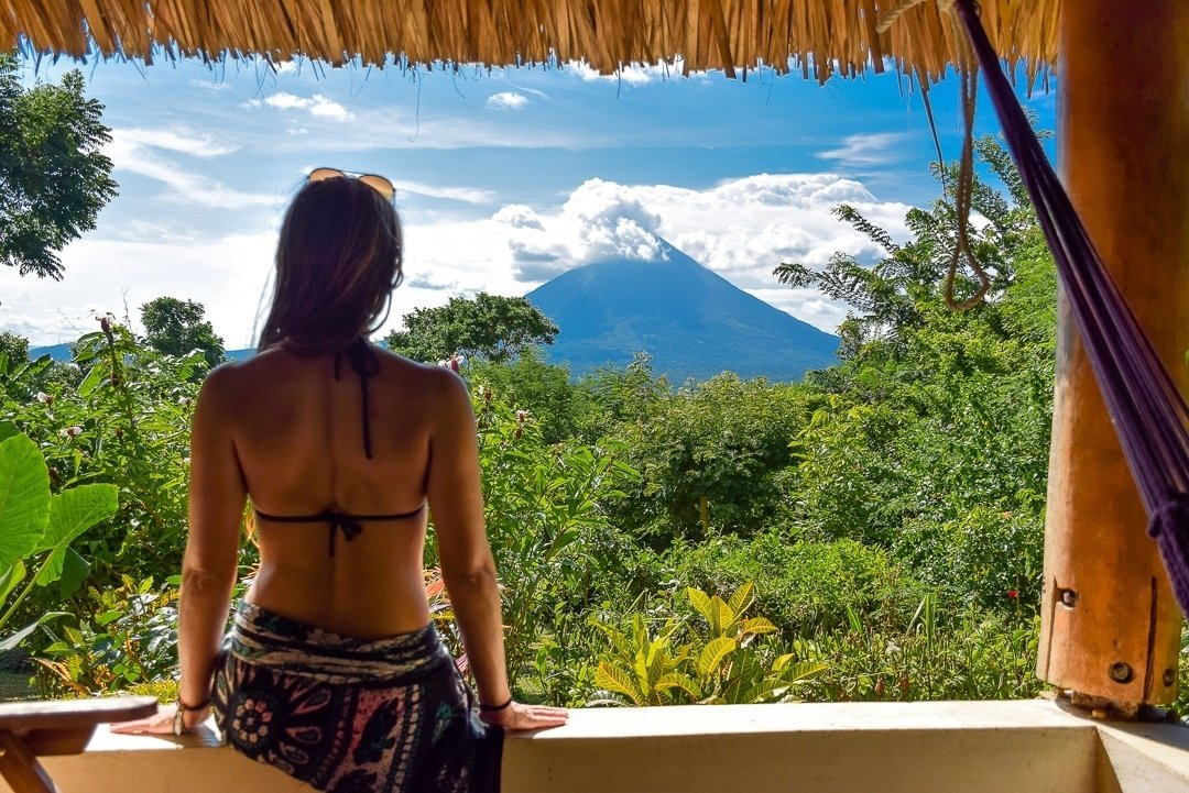 Nicaragua travel guide, ometepe volcano photo