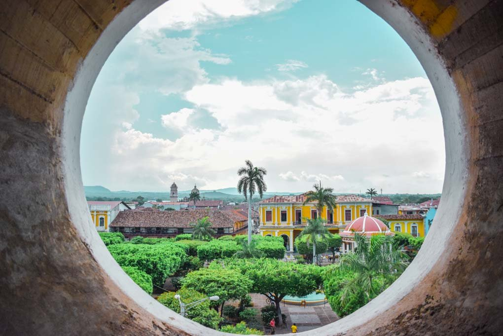 The view from the Cathedral of Granada, Nicaragua