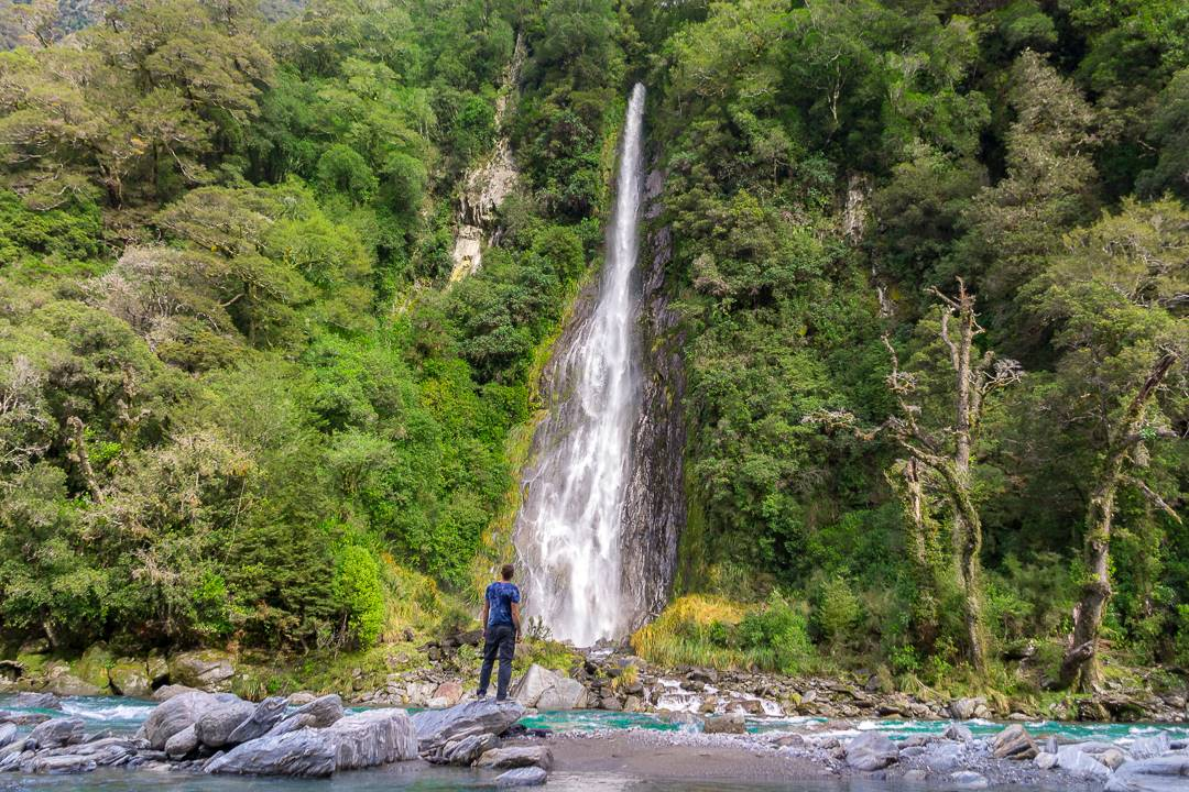 Thunder Creek Falls, New Zealand