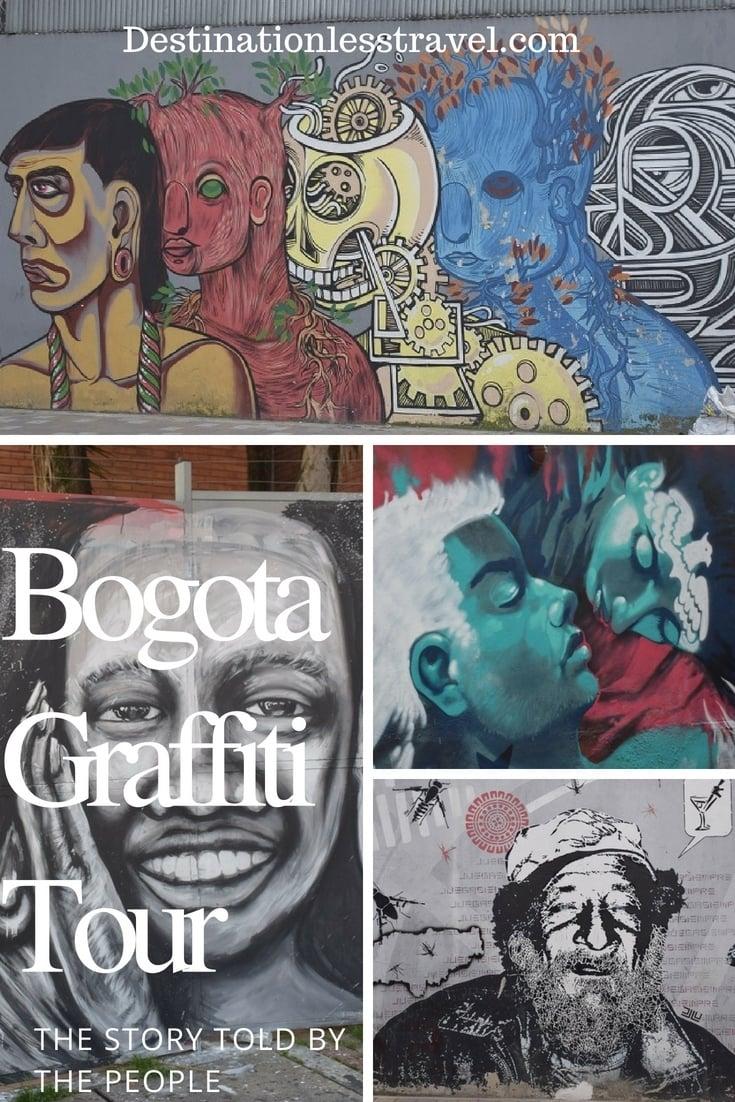 Bogota graffiti tour pin