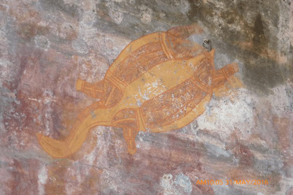 aboriginal artwork in kakadu national park