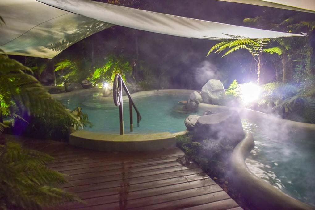 The Franz Josef Hot Pools, New Zealand