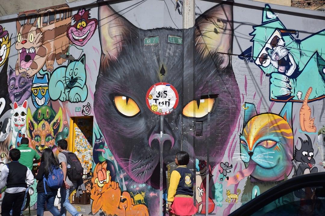 Free graffiti tour Bogota