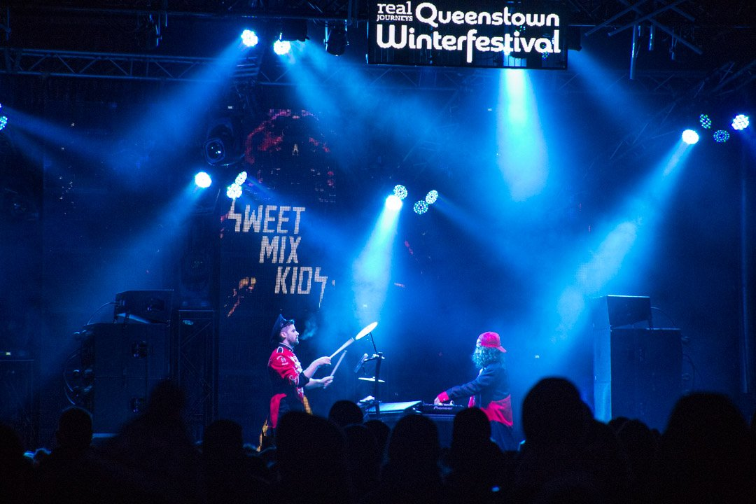 queenstown winter festival live music