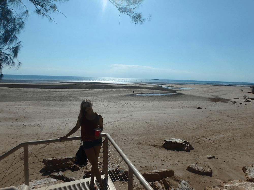 walk from nightcliff to casuarina beach