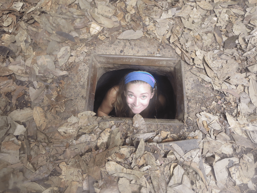the chu chi tunnels