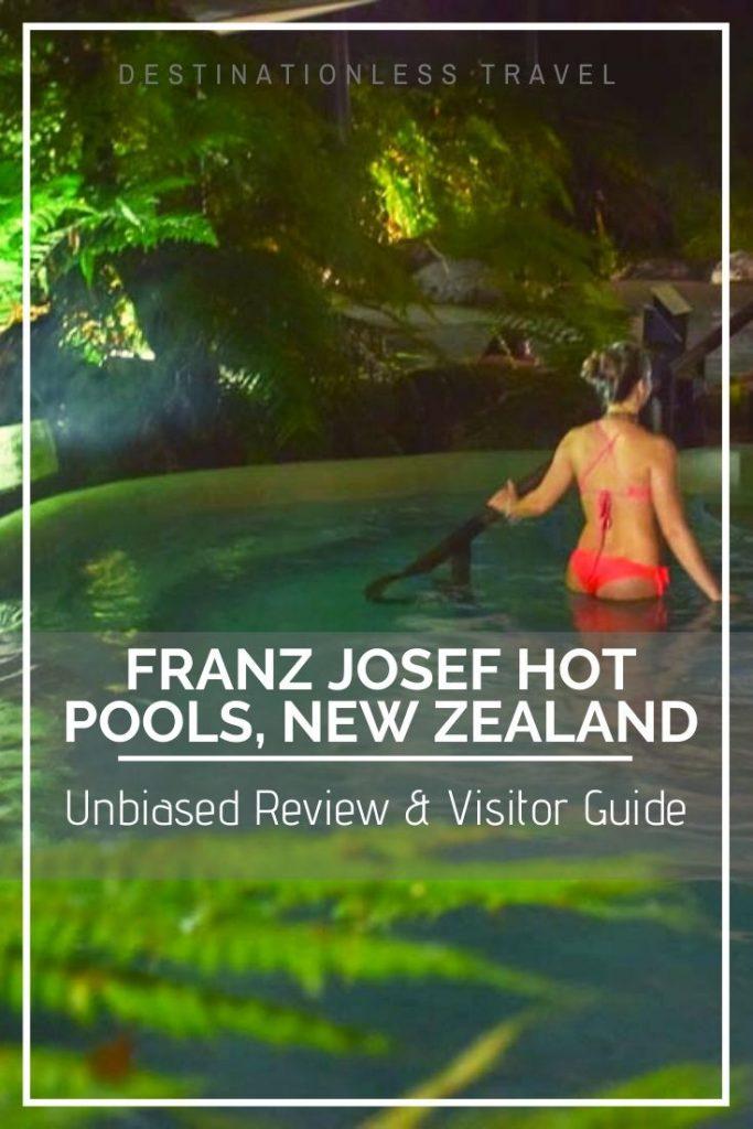 franz josef hot pools pin