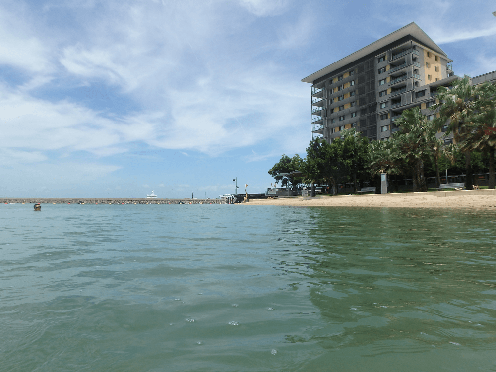 the lagoon is one of the cool things to do in Darwin