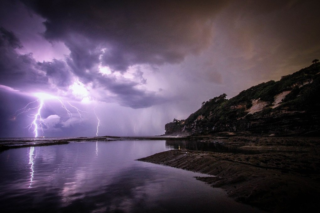 thunderstorm in darwin australia