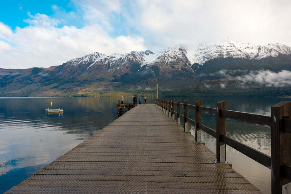 The glenorchy Jetty in Glenorchy