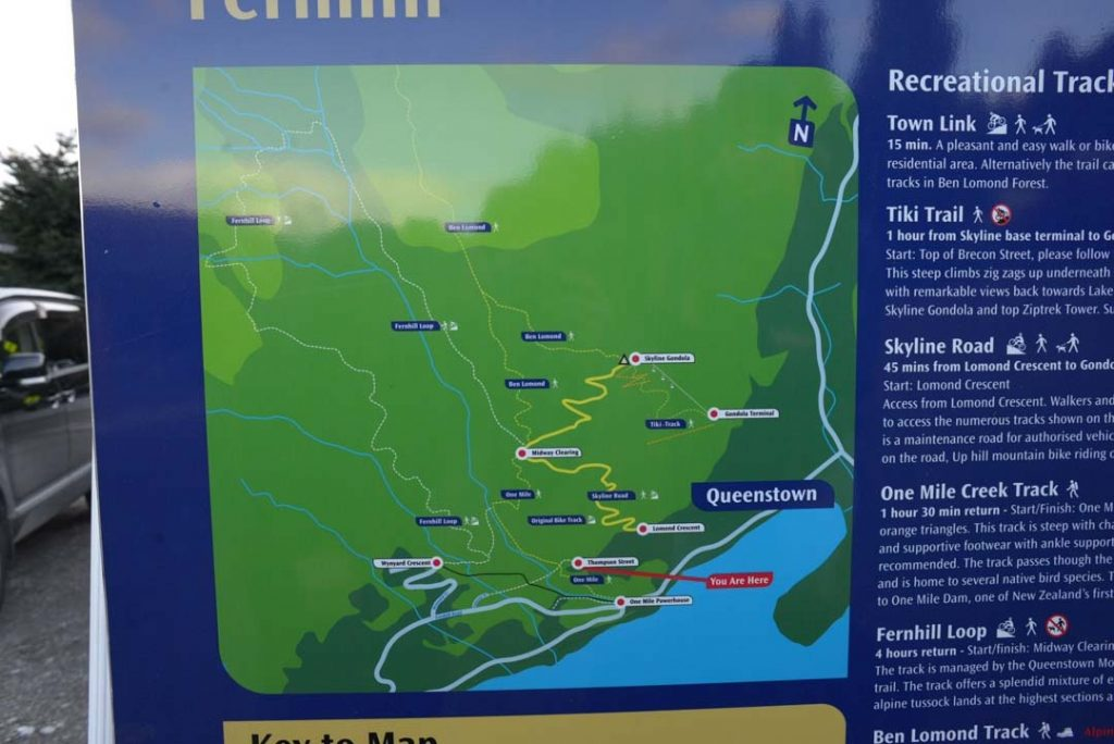 Fern Hill Loop map for hikers