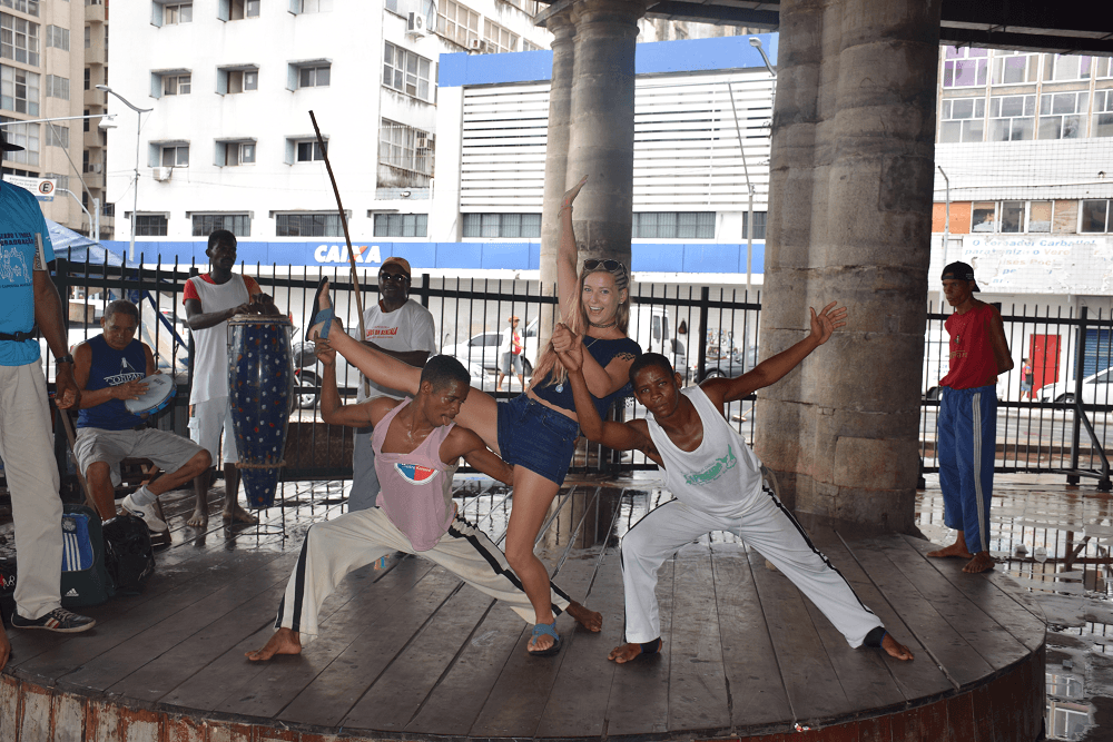 dancers in salvador, bahia