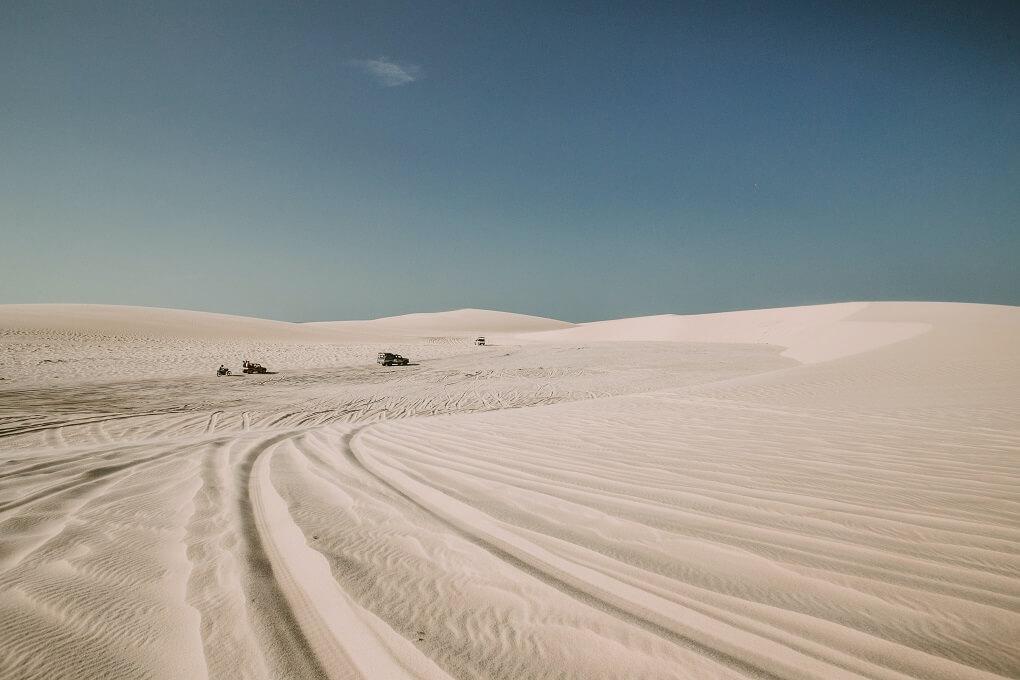 jericoacoara brazil sand dunes
