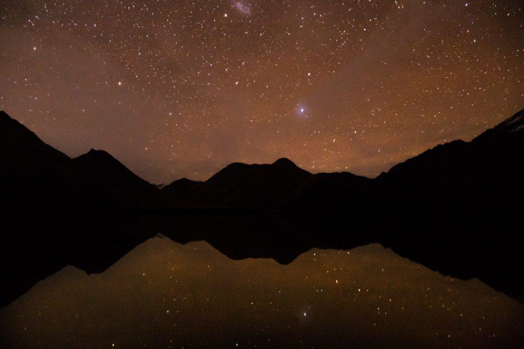 Stargazing at Moke Lake is a popular thing to do