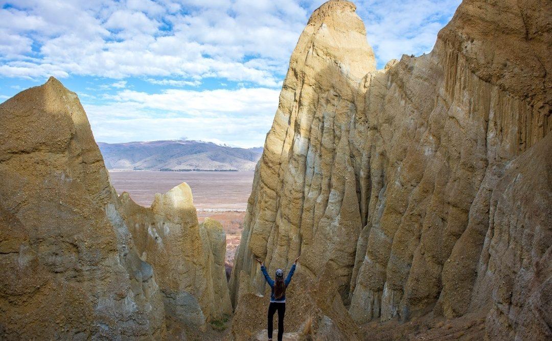 Clay Cliffs New Zealand