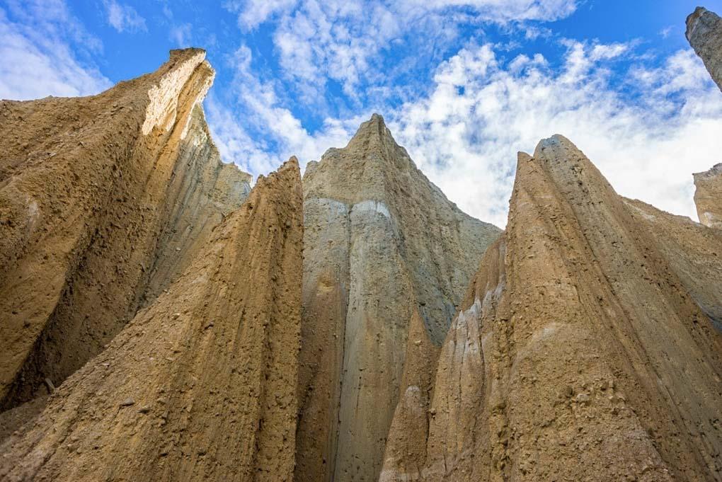 Omarama Clay Cliffs, New Zealand