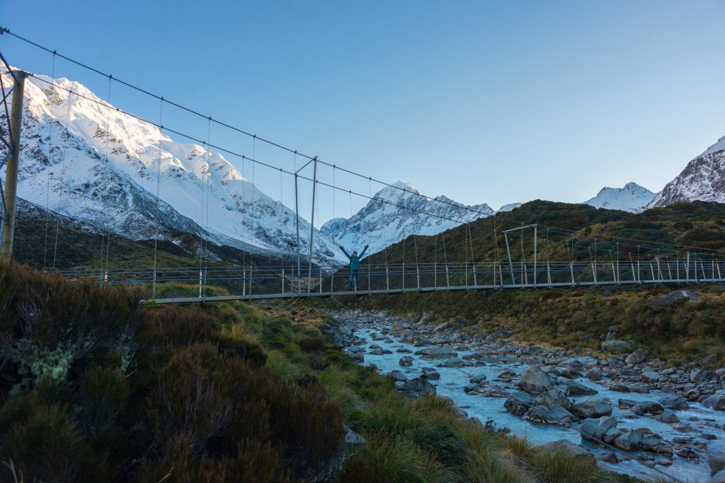 the hooker valley track new zealand