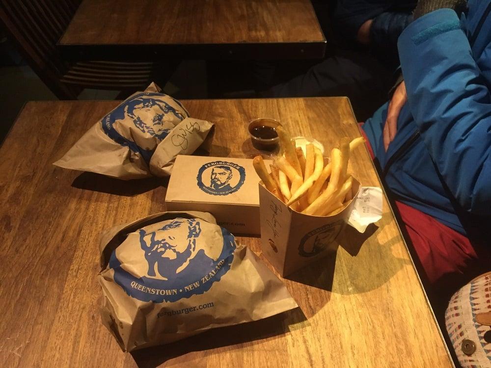 Fergburger burgers