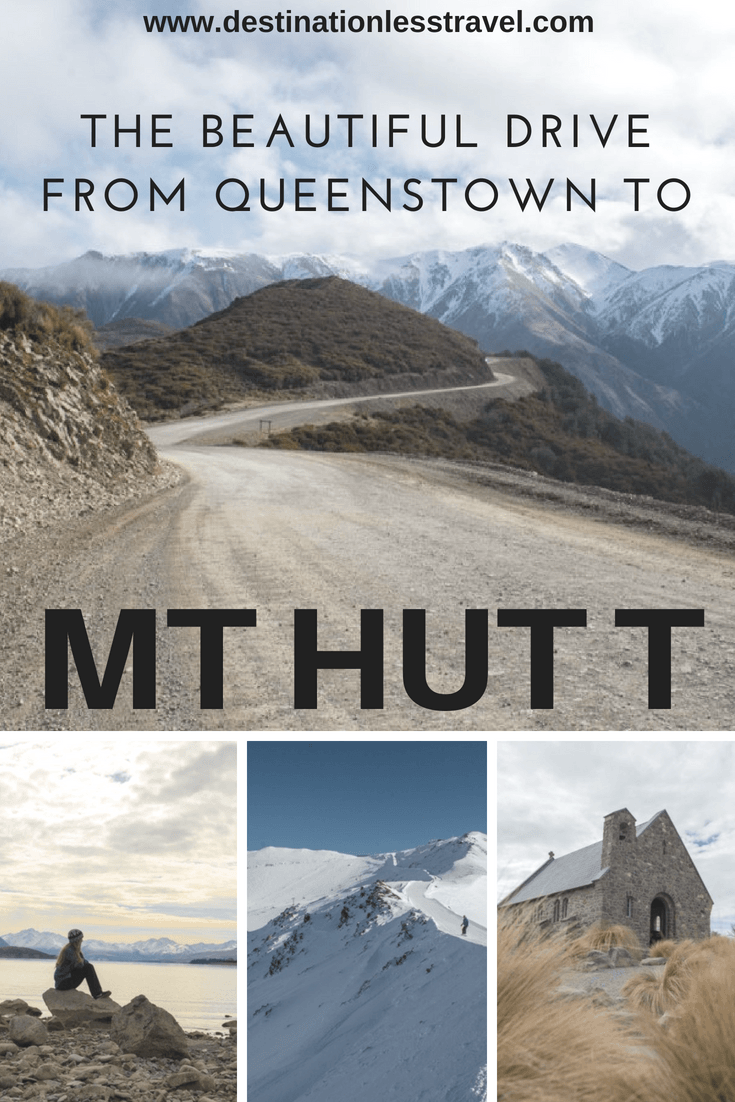 The beautiful drive from queenstown to mt hutt