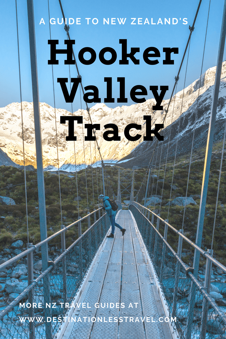 a guide to the hooker valley track pinterest