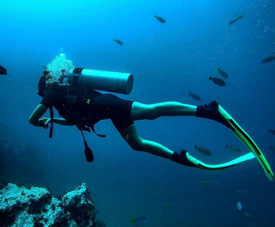 scuba diving is one f the best thing to do in santa marta