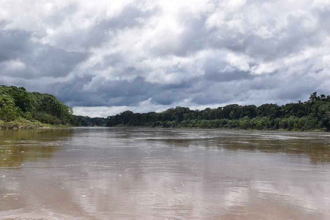 rio amdre surrounds puerto maldonado peru